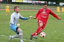 Fotbalisté Vyškova dali Tasovicím čtyřku.