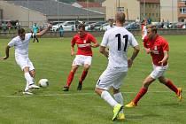 Kapitán fotbalistů MFK Vyškov Michal Klesa se po individuálních trénincích připojil k mužstvu a v Blansku sehrál své první přípravné utkání.