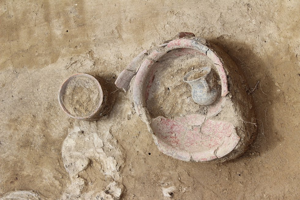 Nejzajímavějším nálezem je část kostrového pohřebiště z pozdní doby kamenné.