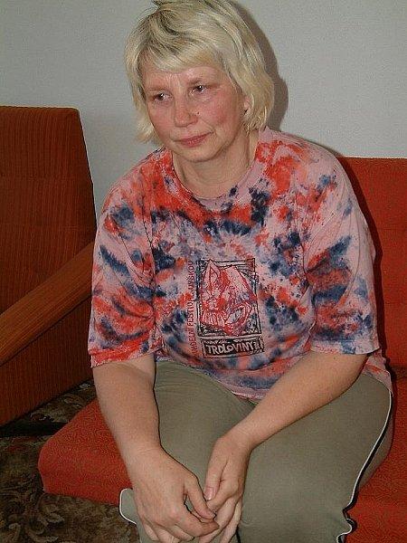 Jana Nováková, matka Radima Krkošky a zároveň babička malého Dominika, kteří se stali obětmi  chladnokrevné vražedkyně Martiny Hasíkové z Pustiměře.