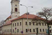 Nová radnice v Rousínově.