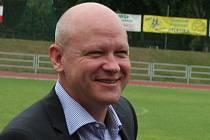 První muž českého fotbalu a předseda výkonného výboru Českomoravského fotbalového svazu Ivan Hašek .