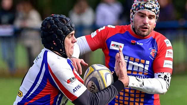 V utkání 6. kola extraligy v ragby porazil JIMI RC Vyškov doma Mountfield Říčany 27:5.