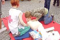 Ukázky první pomoci ve Vyškově