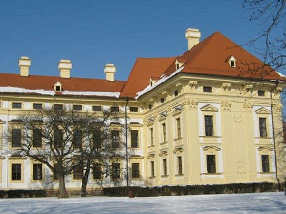 Zámecký park ve Slavkově láká k zimním procházkám