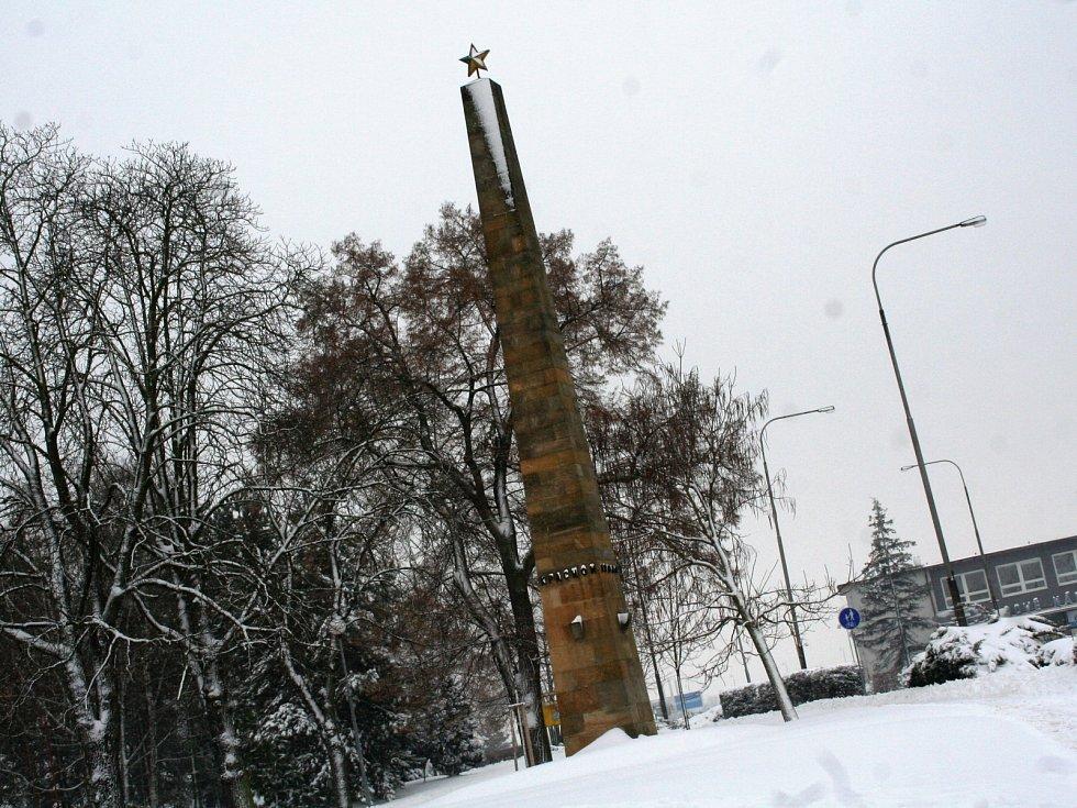 Vyškov plánuje celkovou obnovu památníku Rudé armády v Brněnské ulici.