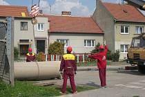 Opravy v Křečkovské ulici
