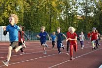 Čokoládová trestra jsou oblíbené běžecké závody dětí. Ilustrační foto.