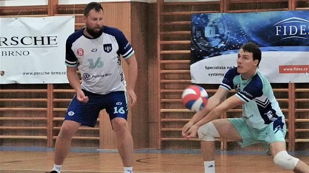 Volejbalisté Bučovic doma sokolský titul neobhájili.Ve finále podlehli Dobřichovicím.