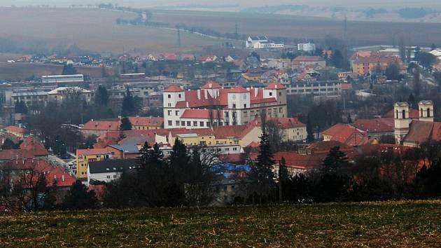 Panorama Bučovic.