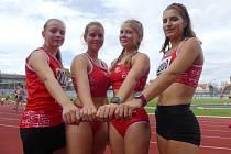 Bronzové medaile vybojovalo družstvo atletů AHA Vyškov v závodě II. ligy ve Znojmě.