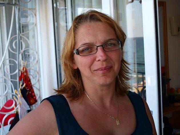 Anna Klímová, organizátorka úklidu vIvanovicích na Hané