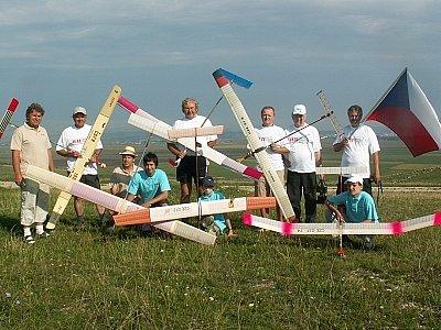 Dva zástupci z Vyškovska se účastnili světového mistrovství leteckých modelářů.