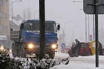 Vyškovsko sužuje vydatné sněžení.