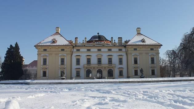 Slavkovský zámek. Ilustrační foto.