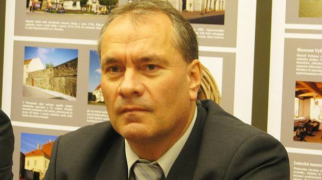 Vyškovský starosta Jiří Piňos.