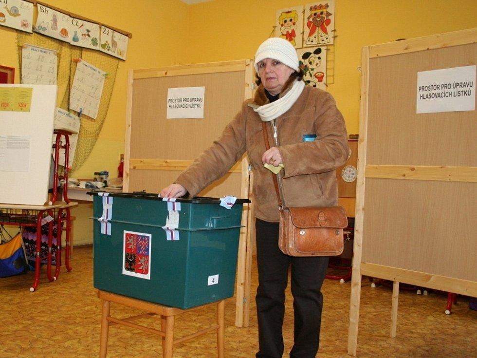 K volebním urnám se ve druhém kole prezidentských voleb vypravili i lidé z Vyškova.