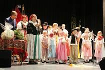 Dětský folklorní soubor Klebetníček.