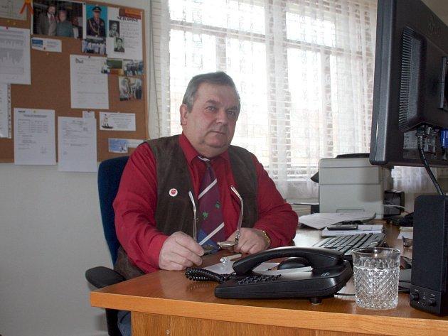 Letonický starosta Jiří Skokan.