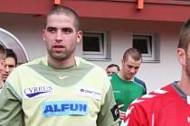 Jan Kopáček, trenér MFK Vyškov B, bývalý brankář Vyškova.
