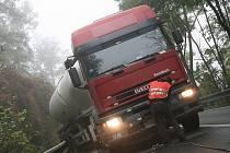 Nehodu cisterny v nížkovickém kopci berou silničáři jako varování