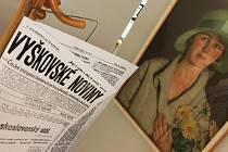 Novou výstavu v Muzeu Vyškovska můžou zájemci navštěvovat až do poloviny listopadu.