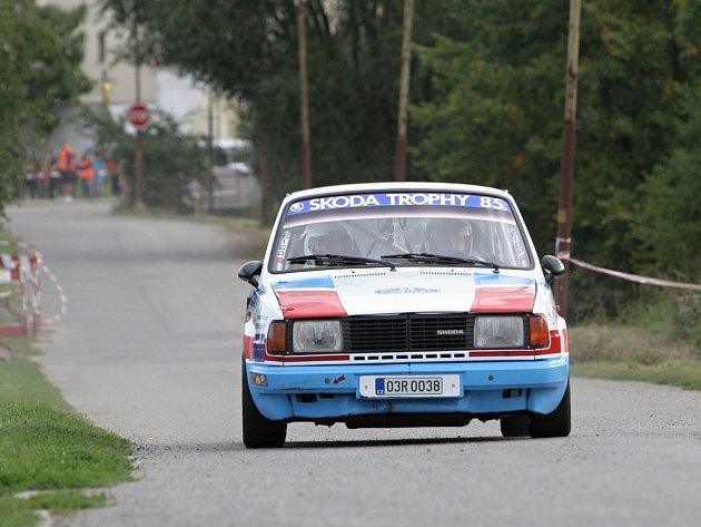 Automobilová Admiral rally ve Vyškově.
