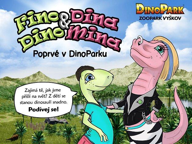 Vyškovský dinopark zahajuje vsobotu novou sezonu. Na návštěvníky čeká nejen nový 4D film, ale ipohyblivé modely a dvojice maskotů skvízy.