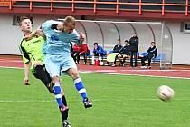 V utkání fotbalové divize porazil MFK Vyškov Slováckou Spartu Spytihněv 3:0.