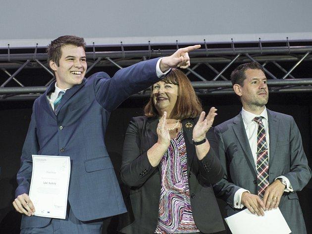 Student vyškovského gymnázia Luboš Vozdecký vyhrál soutěž EUCYS 2014 pro mladé vědce.