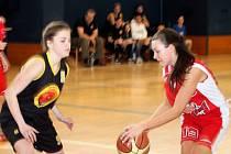 V oblastním přeboru basketbalistek ženy BK Vyškov nejprve porazily Velké Meziříčí 69:57, ale v odvetě podlehly 45:88.