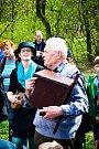 Sedmnáctá ekologická Pouť k bažině přilákala jak Drnovické, tak přespolní.