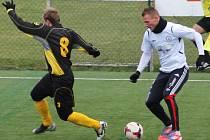 V přípravném utkání na vlastním umělém trávníku  porazili fotbalisté MFK Vyškov FK Hodonín 2:0.