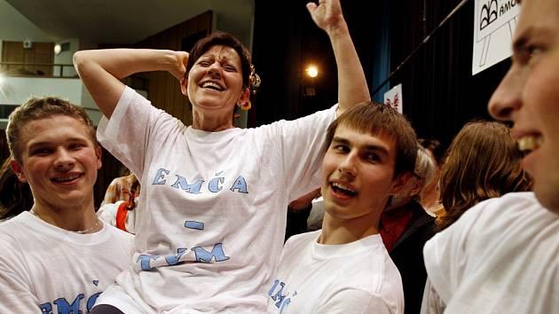 Kostrbová v roce 2008 vyhrála Zlatého Ámose