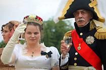 Druhou ženu Napoleona Bonaparta připomínají sobotní Napoleonské hry ve Slavkově u Brna.