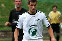 Fotbalista Matěj Sedláček.