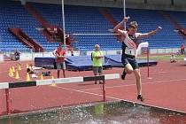Úspěšní mladí atleti AHA Vyškov na mistrovství Moravy a Slezska ve Vítkovicích.