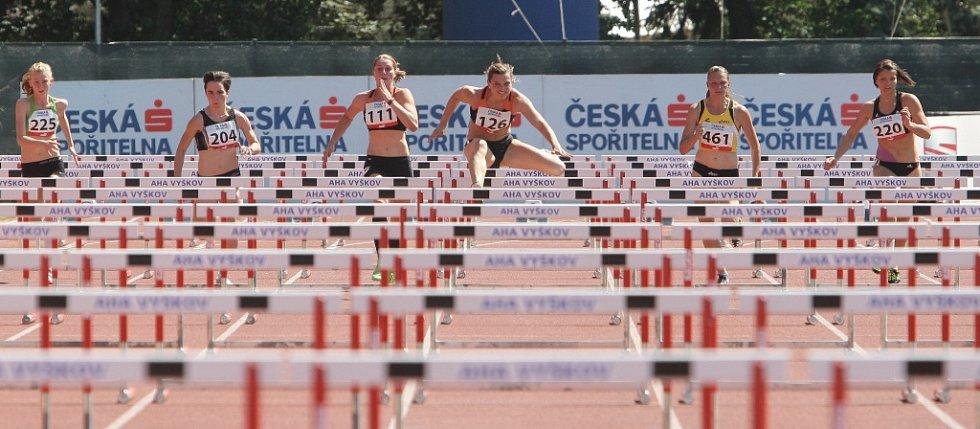 Škrobáková i Čechová první den plnily limity. Návštěvníci se už teď těší na nedělní pokračování.