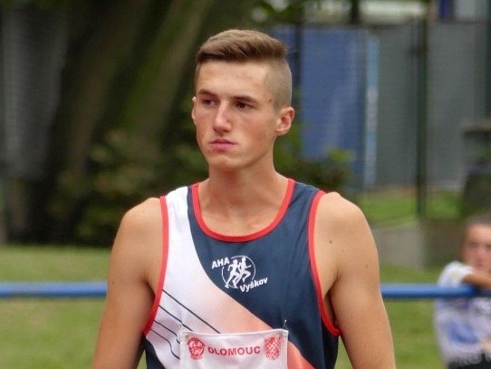 Marek Kalous rozšířil sbírku svých medailí o bronz z mistrovství republiky.