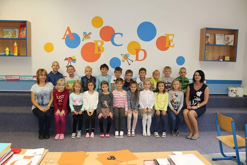 Děti v Základní škole Tyršova.