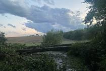 Bouře v Ivanovicích.