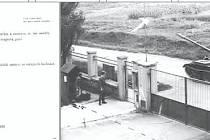 Vlevo je parte Ilji Sušánkové, kterou zastřelili sovětští vojáci.  Z oken velitelství je tajně vyfotografoval jeden z důstojníků. (na snímku vpravo)