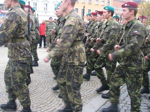 Vojáci dnes přísahali na vyškovském náměstí
