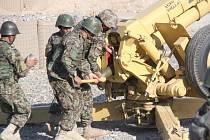 Bučovičtí vojáci se podíleli na výcviku afghánských dělostřelců.