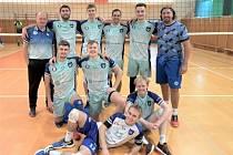 Volejbalisté Bučovic po turnaji v Palkovicích.