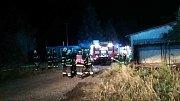 Noční požár v Ruprechtově