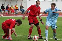 V dohrávce 18. kola divize D prohrál MFK Vyškov doma s HFK Třebíč 0:2.