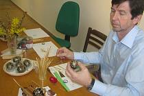 Výroba tradičních hanáckých kraslic