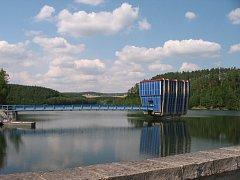 Opatovická přehrada.