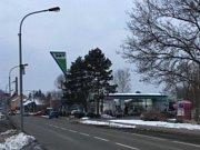 Přepadení benzinky ve Vyškově.